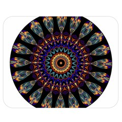 Colorful Prismatic Chromatic Double Sided Flano Blanket (Medium)