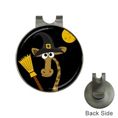 Halloween giraffe witch Hat Clips with Golf Markers