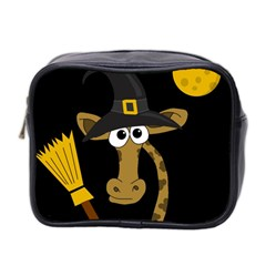 Halloween giraffe witch Mini Toiletries Bag 2-Side