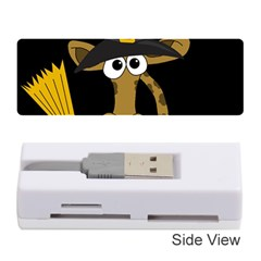 Halloween giraffe witch Memory Card Reader (Stick)