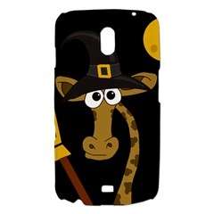 Halloween giraffe witch Samsung Galaxy Nexus i9250 Hardshell Case