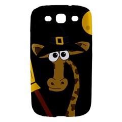 Halloween giraffe witch Samsung Galaxy S III Hardshell Case