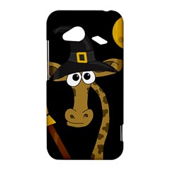 Halloween giraffe witch HTC Droid Incredible 4G LTE Hardshell Case