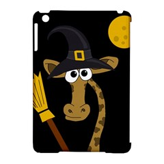Halloween giraffe witch Apple iPad Mini Hardshell Case (Compatible with Smart Cover)