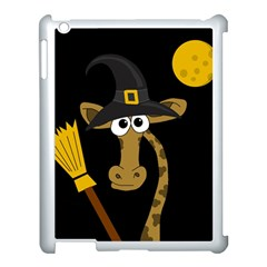Halloween giraffe witch Apple iPad 3/4 Case (White)