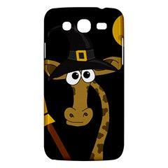 Halloween giraffe witch Samsung Galaxy Mega 5.8 I9152 Hardshell Case