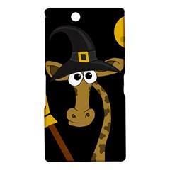 Halloween giraffe witch Sony Xperia Z Ultra