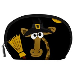 Halloween giraffe witch Accessory Pouches (Large)