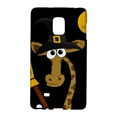 Halloween giraffe witch Galaxy Note Edge