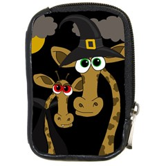 Giraffe Halloween party Compact Camera Cases