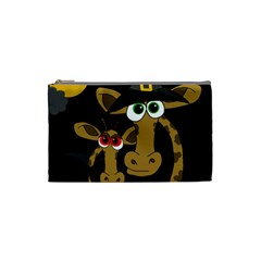 Giraffe Halloween party Cosmetic Bag (Small)