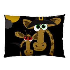 Giraffe Halloween party Pillow Case (Two Sides)