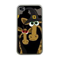 Giraffe Halloween party Apple iPhone 4 Case (Clear)