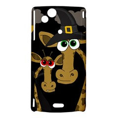 Giraffe Halloween party Sony Xperia Arc