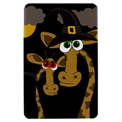 Giraffe Halloween party Kindle Fire (1st Gen) Hardshell Case