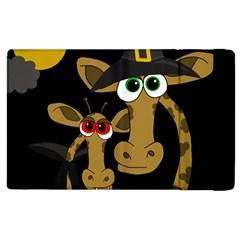 Giraffe Halloween party Apple iPad 3/4 Flip Case