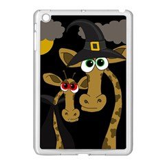Giraffe Halloween party Apple iPad Mini Case (White)
