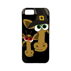 Giraffe Halloween party Apple iPhone 5 Classic Hardshell Case (PC+Silicone)