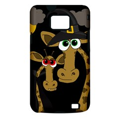 Giraffe Halloween party Samsung Galaxy S II i9100 Hardshell Case (PC+Silicone)