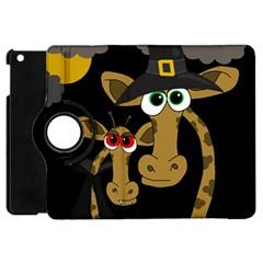 Giraffe Halloween party Apple iPad Mini Flip 360 Case