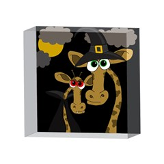Giraffe Halloween party 4 x 4  Acrylic Photo Blocks