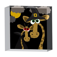Giraffe Halloween party 5  x 5  Acrylic Photo Blocks