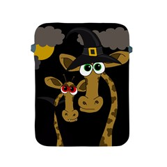 Giraffe Halloween party Apple iPad 2/3/4 Protective Soft Cases