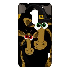 Giraffe Halloween party HTC One Max (T6) Hardshell Case