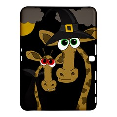 Giraffe Halloween party Samsung Galaxy Tab 4 (10.1 ) Hardshell Case