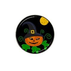 Halloween witch pumpkin Hat Clip Ball Marker (10 pack)