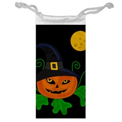 Halloween witch pumpkin Jewelry Bags