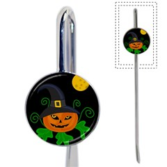 Halloween witch pumpkin Book Mark