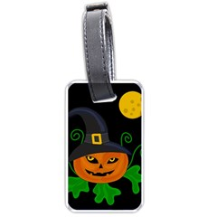 Halloween witch pumpkin Luggage Tags (One Side)
