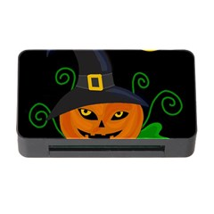 Halloween witch pumpkin Memory Card Reader with CF