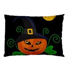 Halloween witch pumpkin Pillow Case (Two Sides)