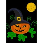 Halloween witch pumpkin You Did It 3D Greeting Card (7x5) Inside