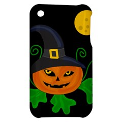 Halloween witch pumpkin Apple iPhone 3G/3GS Hardshell Case