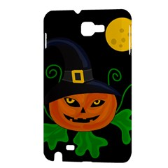 Halloween witch pumpkin Samsung Galaxy Note 1 Hardshell Case