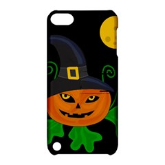 Halloween witch pumpkin Apple iPod Touch 5 Hardshell Case with Stand