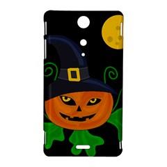 Halloween witch pumpkin Sony Xperia TX