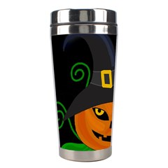 Halloween witch pumpkin Stainless Steel Travel Tumblers