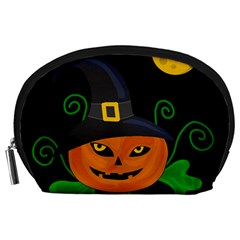 Halloween witch pumpkin Accessory Pouches (Large)