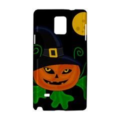 Halloween witch pumpkin Samsung Galaxy Note 4 Hardshell Case