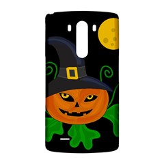 Halloween witch pumpkin LG G3 Back Case