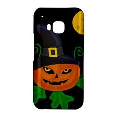Halloween witch pumpkin HTC One M9 Hardshell Case