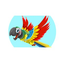 Parrot YOU ARE INVITED 3D Greeting Card (8x4)