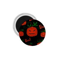 Halloween pumpkin pattern 1.75  Magnets