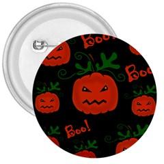 Halloween pumpkin pattern 3  Buttons