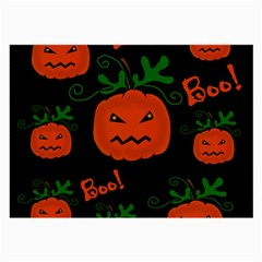 Halloween pumpkin pattern Large Glasses Cloth (2-Side)