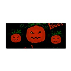 Halloween pumpkin pattern Hand Towel